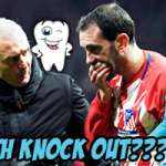 Dental Surgery for Diego Godin's Due to Intense Smash in La Liga