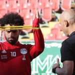 Liverpool's Mo Salah Tests Injured Shoulder for World Cup Opener