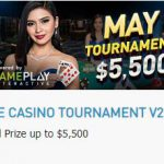 Promotional Update: Savor the Last 2 Days of May with the $5,500 Tournament