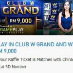Promotional Update: Win RM 9,000 from W88's Club W Grand