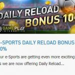 Promotional Update: Enjoy e-Sports with at W88 and Get a 10% Reload Bonus