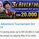 Promotional Update: 3x Adventure October Tournament RM 20,000