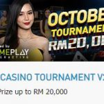 Promotional Update: Live Casino Tournament for October – Win up to RM 20,000