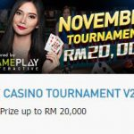 Promotional Update: November Live Casino Tournament – Win as much as RM 20,000!