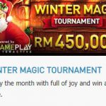 Promotional Update: Winter Magic Tournament-Win as much as RM 450,000!
