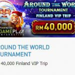 Promotional Update:  Around the World Tournament with Finland VIP Trip
