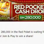 Promotional Update: Chinese New Year Promo-Red Pocket Cash Drop!