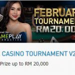 Promotional Update: Live Casino Tournament – RM 20,000 Up for Grabs