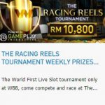 Promotional Update: The Racing Reels Tournament – Win RM 10,800 in weekly prizes!