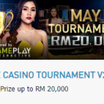 Promotional Update: W88 May Tournament – Win up to RM 20,000!