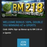 W88 Promotions: e-Sports Welcome Bonus up to 218 MYR