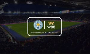 W88 Leicester City - Official Partners from 2018 to 2021