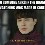 Watching Kdrama memes – Funny, relatable for viewers & fans