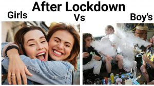 before and after lockdown memes - 04